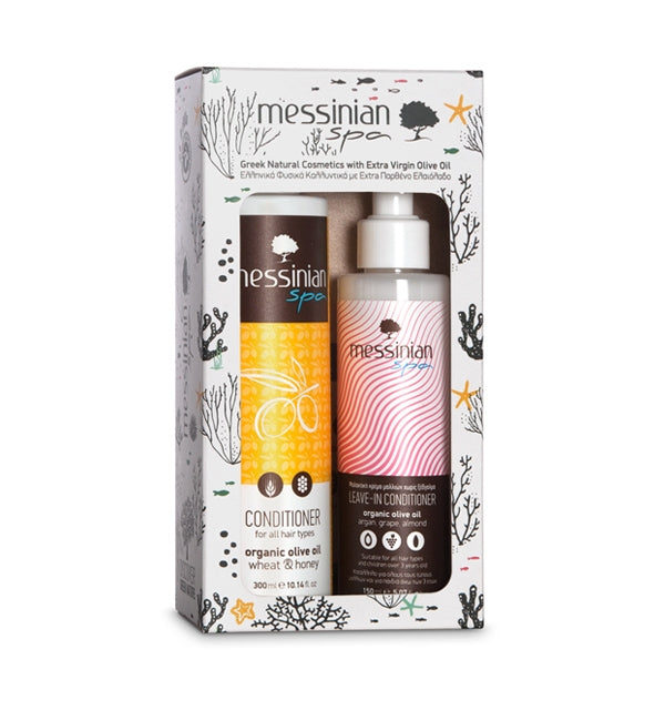 CONDITIONER + LEAVE-IN CONDITIONER - 2-PACK GIFT SET