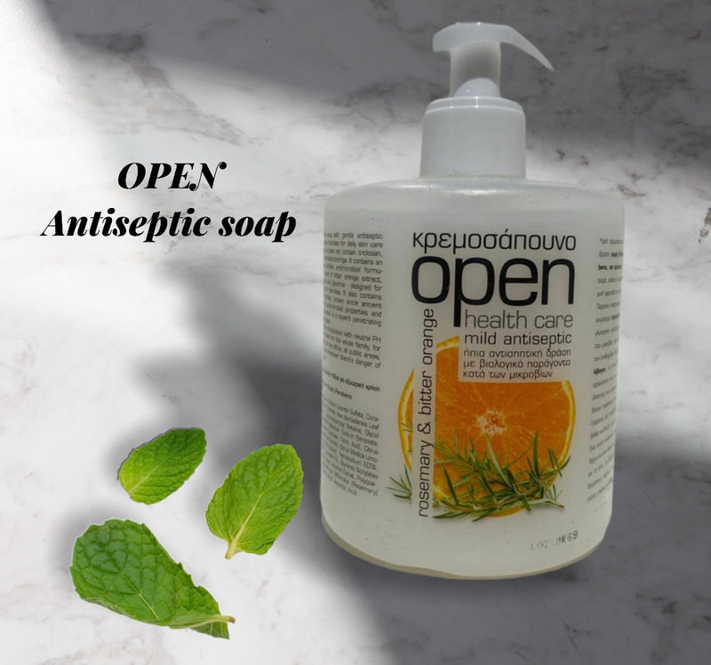 OPEN Health care mid antiseptic hand soap 500ml