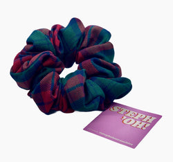 Hair Scrunchies  STEPH'OH HANDMADE with recycled material and reused fabrics