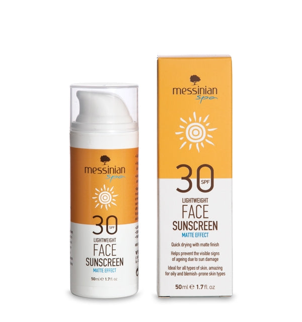 Face Sunscreen Matte Effect - Spf 30