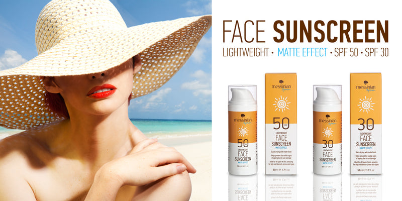 Face Sunscreen Matte Effect - Spf 50