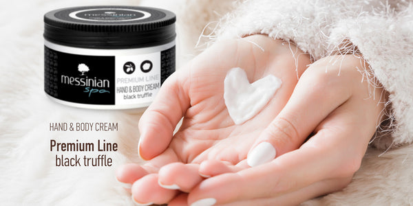 Hand & Body Cream Premium Line - Black Truffle - 250ml