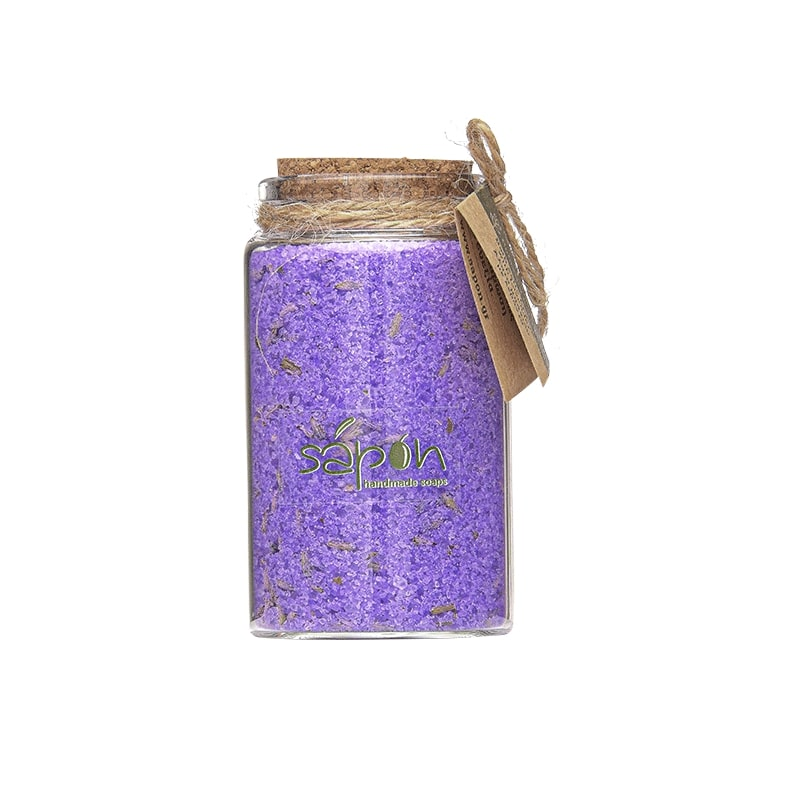 Sapon Relaxing Bath salts with Lavender 100ml