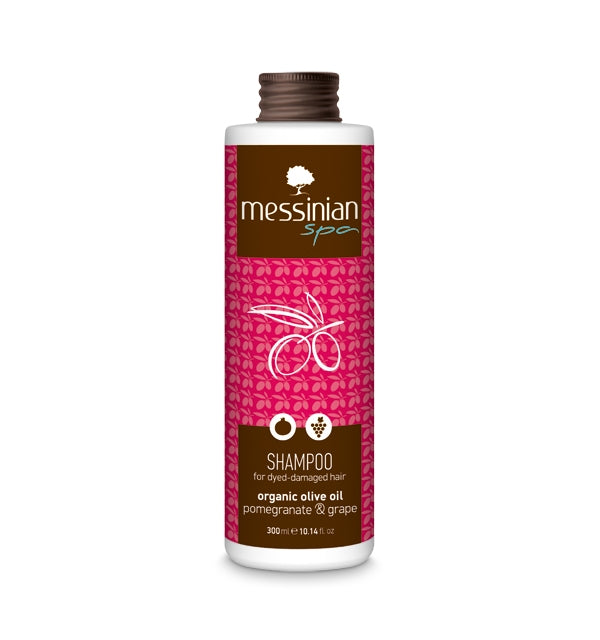 Shampoo For dyed - Damaged Hair - Pomegranate & Grape - 300ml