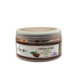 Caffeine & salt scrub 200ml