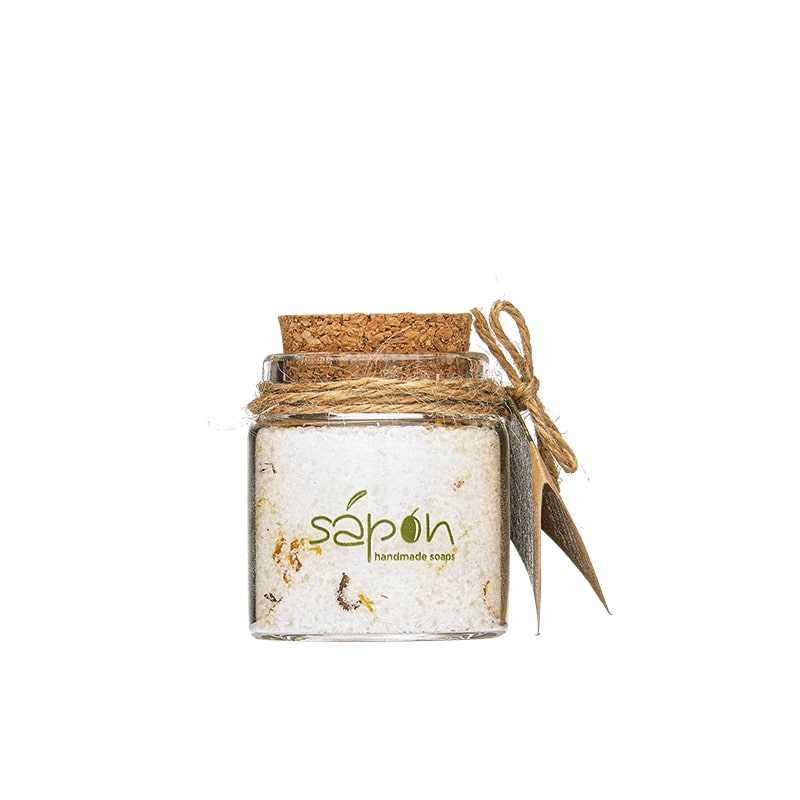 Sapon Soothing Bath salts with Pomegranate scent  50ml