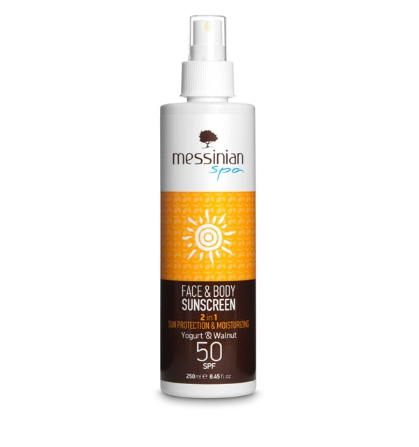 Sunscreen Yogurt & Walnut Spf 50 - 250ml