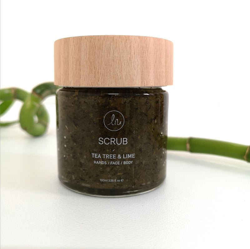 SCRUB TEA TREE & LIME