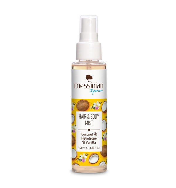 HAIR & BODY MIST - COCONUT & HELIOTROPE & VANILLA - 100ML