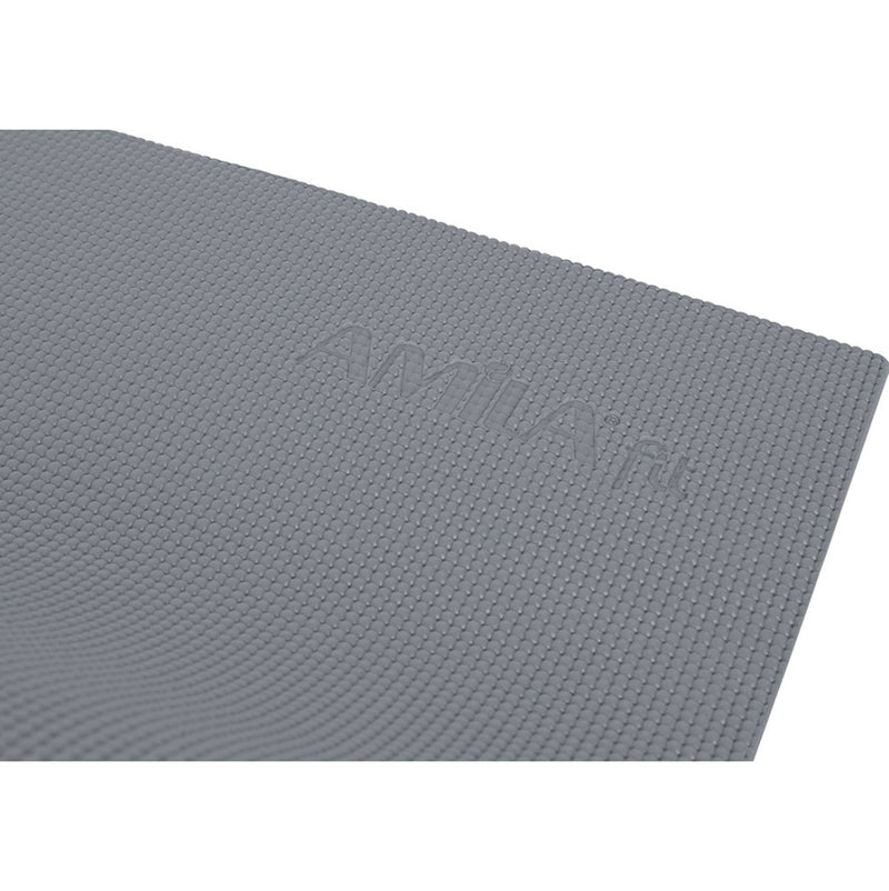AMILA YOGA PILATES MAT 4MM SILVER GREY WITH FREE MAT BAG GIFT