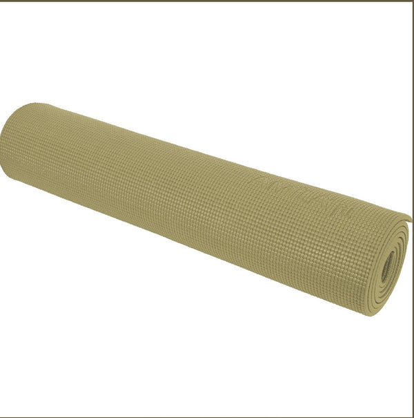 Amila Yoga Mat 4mm olive green with FREE Yoga mat Bag GIFT