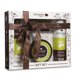 Gift Set  1  Body care Shower gel-Body Milk-Body Cream