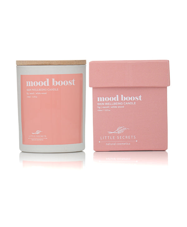 Little Secrets Mood Boost  Skin Wellbeing Candle 150ml  Ideal For Massage