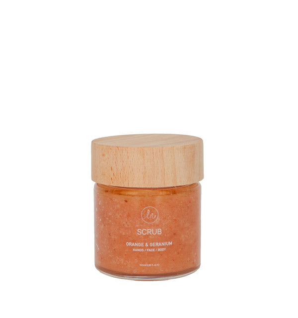 SCRUB ORANGE & GERANIUM