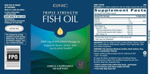Load image into Gallery viewer, GNC Triple Strength Fish Oil - 120 Softgels