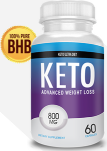 Keto Ultra Diet - 800mg - 60 Capsules