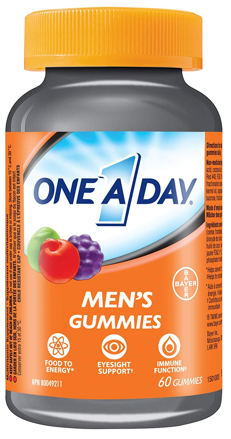 One A Day Men's Gummies - 60 Count