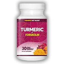 Load image into Gallery viewer, Turmeric + Forskolin - 30 day supply