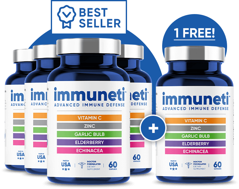 immuneti Formula for Immunity and Overall Health