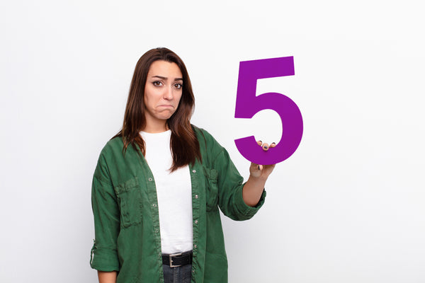 Beat Anxiety with the Rule of Fives