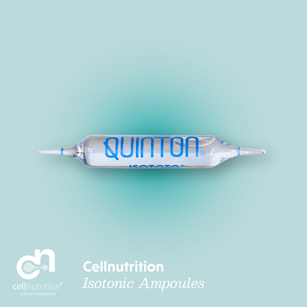Cellnutrition Quinton Ampoule Isotonique<br> (Encadré 30)