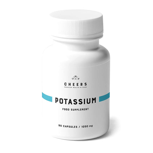 Cheers Potassium - 780mg - 90 Capsules
