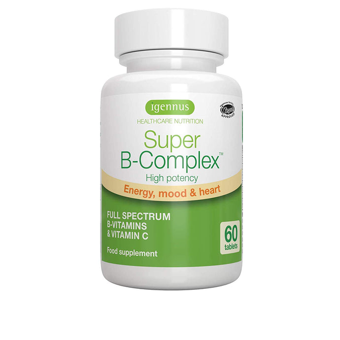 Igennus Super B Complex - 60 Tablets