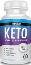 Load image into Gallery viewer, Keto Pure - 800mg - 60 capsules