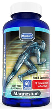 Load image into Gallery viewer, MgSport Magnesium - 380mg - 60 Capsules