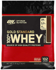 Optimum Nutrition Whey Protein - Double Chocolate - 3.16kg