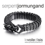 bracelet viking serpent couleur vintage