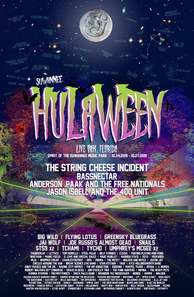 HULAWEEN 2019 Unofficial Poster | MeemTeem Guerrilla Marketing
