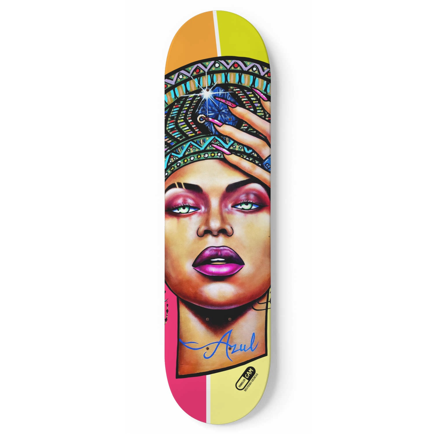 """Beyoncé x Homecoming x Qween"" Skate Deck 