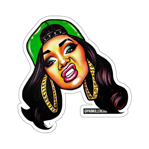 """Don't Touch Me Unless You're Cardi"" Stickers 