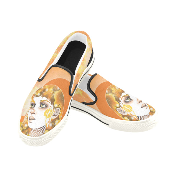 """Sun"" Women's Slip-Ons 