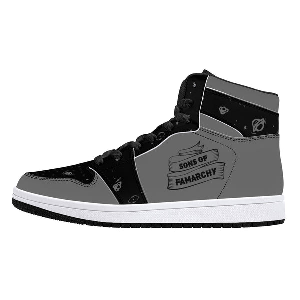 SOFam Galaxy Retro High Tops