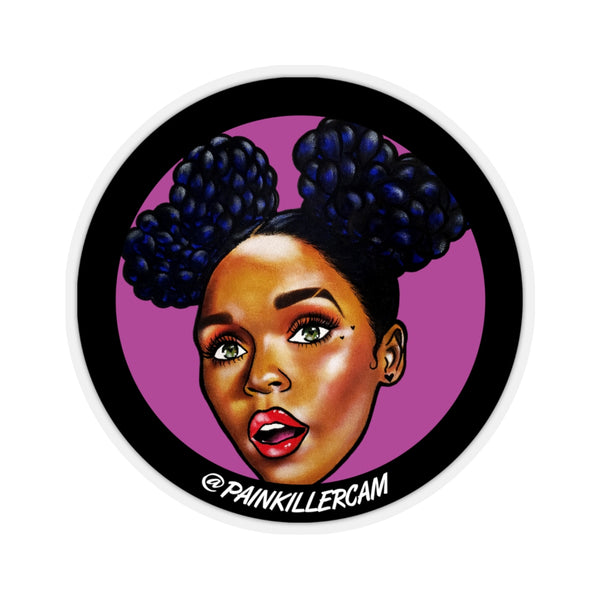 """Janelle"" Stickers 