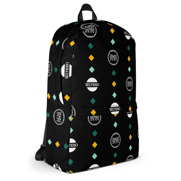 FAMAF x Bizarro Diamond Print Backpack