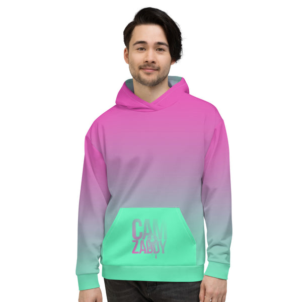 CAM IS MY ZADDY Gradient Print Unisex Hoodie - Neon | Painkiller Cam