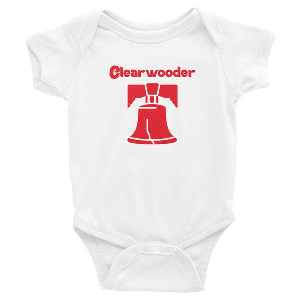 Clearwooder Liberty Bell Baby Onesie