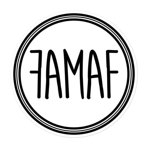 FAMAF Logo Sticker