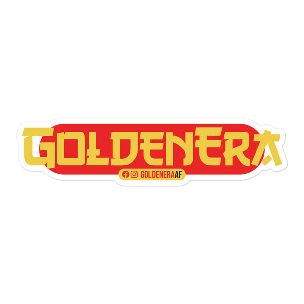 GoldenEra Restaurant Logo Sticker