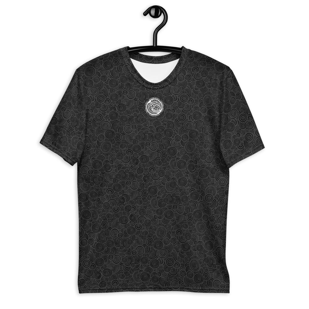 Bizarro Swirl Print Men's T-Shirt - Black | Fall/Winter 2020