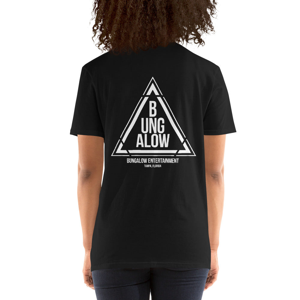 Bungalow Entertainment Triangle Logo Unisex T-Shirt