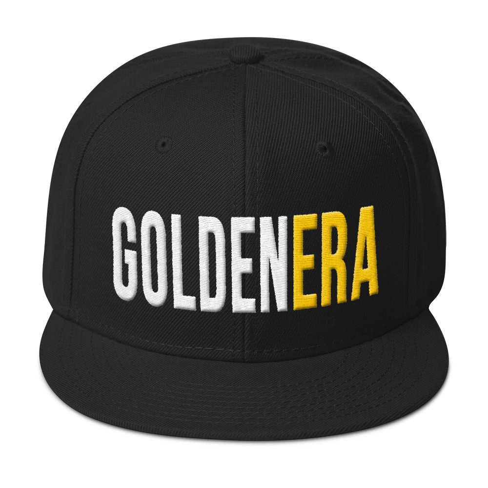 GoldenEra Puff Text Snapback