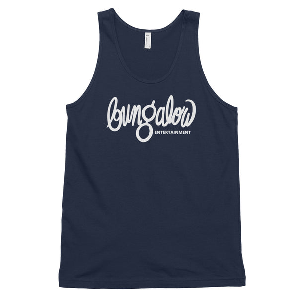 Bungalow Entertainment Script Logo Fine Jersey Tank Top