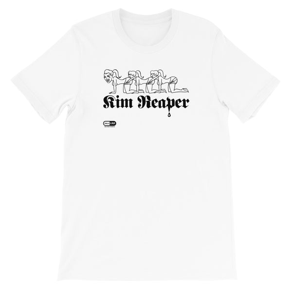 Kim Reaper Unisex T-Shirt | Painkiller Cam Wearable Art