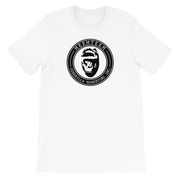 MeemTeem Guerrilla Marketing Harambe Logo Unisex T-Shirt