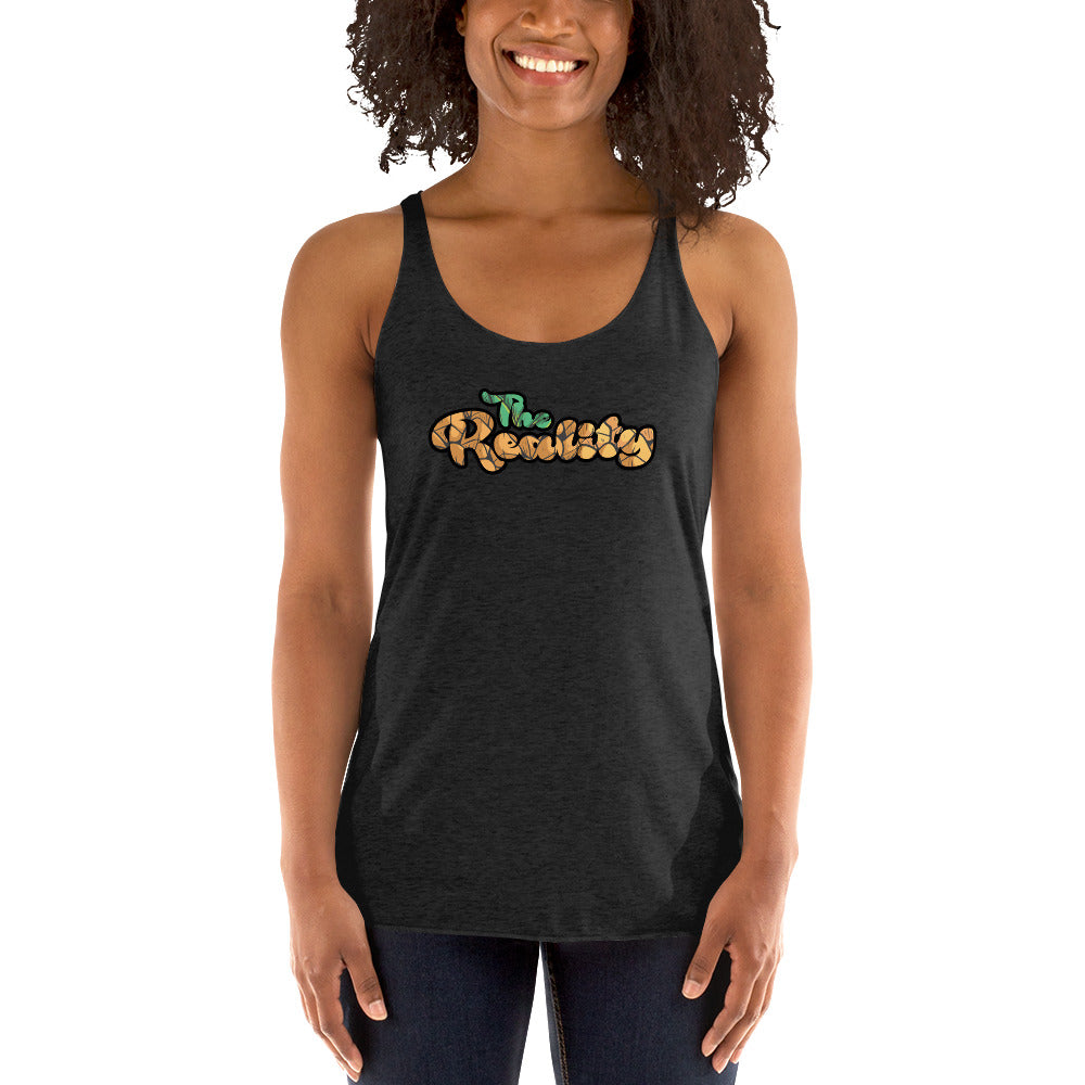 The Reality Text Logo Women's Racerback