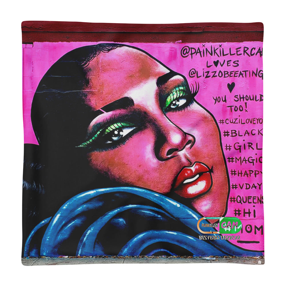 """LIZZO"" Pillow Case 